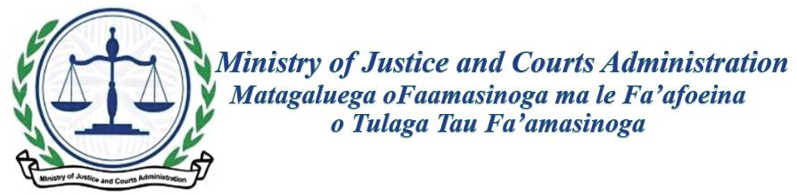 Ministry of Justice and Courts Administration